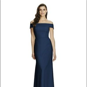 Dessy Collection Bridesmaids Dress- Midnight